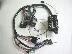 1964 chevy impala ss under dash wiring harness with fusebox mt at w 1984 chevy impala  chevy truck wiring harness