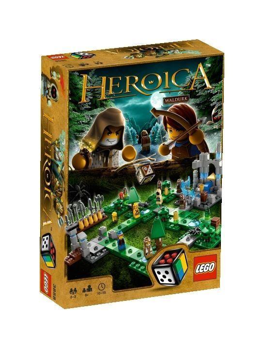 LEGO Spiele 3858 Heroica Die Wälder von Waldurk Forest Spiel Game