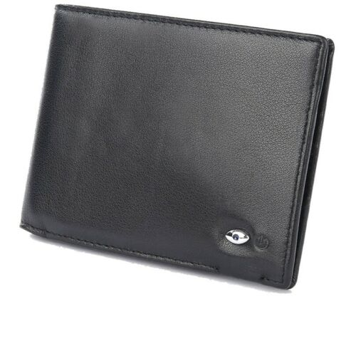 Smart Men/'s Wallet Anti-Lost Bluetooth Genuine Leather with Alarm GPS Map Holder