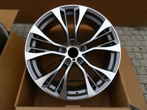 22-Zoll-Alufelgen-satz-fuer-BMW-X5-E70-F15-X6-E71-F16-599-design-10-11J-Grau