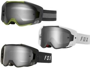 Details about 2019 Fox Racing Vue Goggle Mirrored - Motocross Dirt Bike MTB  Goggles Roczen