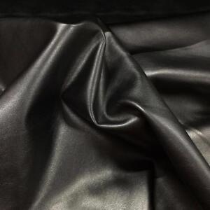 Soft leatherette gun metal grey faux leather look vinyl - Fabric that looks like metal ...