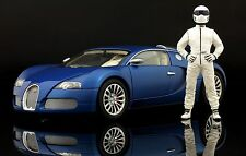 The weiß STIG Figur für 1:18 FrontiArt Koenigsegg Top Gear RARE!