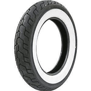 Dunlop D401 Wide White Wall 150//80 B16 71H TL Rear Motorcycle Tyre