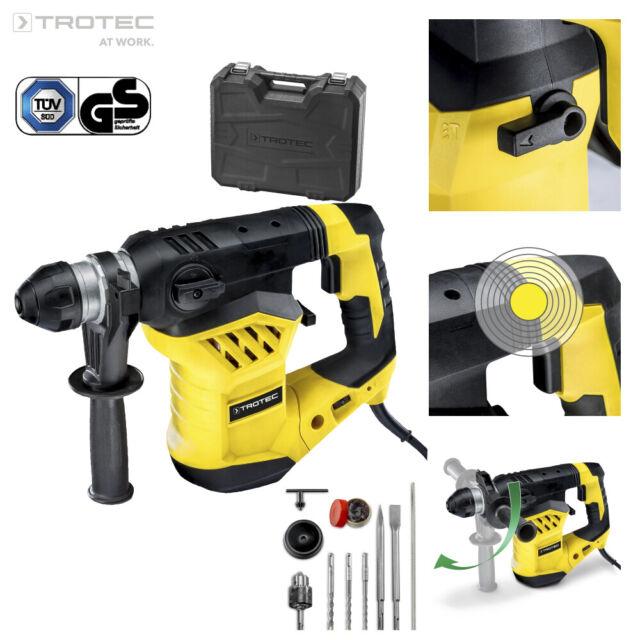 TROTEC Taladro percutor PRDS 11-230V | Martillo perforador | Cincelador | 1600 W