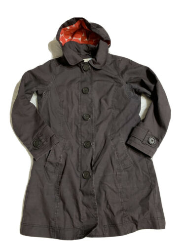 Boden Full Zip Button Down Jacket Size 10 Knne Len