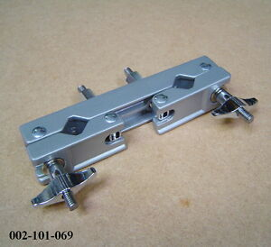 2 way multi clamp for drum kit hardware accessories like pearl 002 101 069 ebay. Black Bedroom Furniture Sets. Home Design Ideas