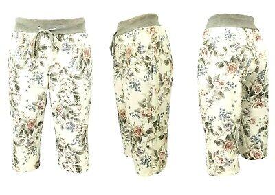 36-44 kurze JogPants Bermuda kurze Hosen SHORTS DAMEN Gr Sommerhose