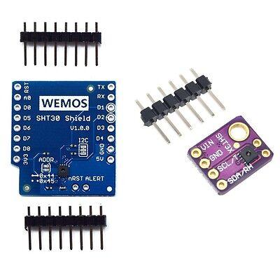 Mini Shield SHT30 I2C Digital Temperature Humidity Module For WeMos D1 Arduino