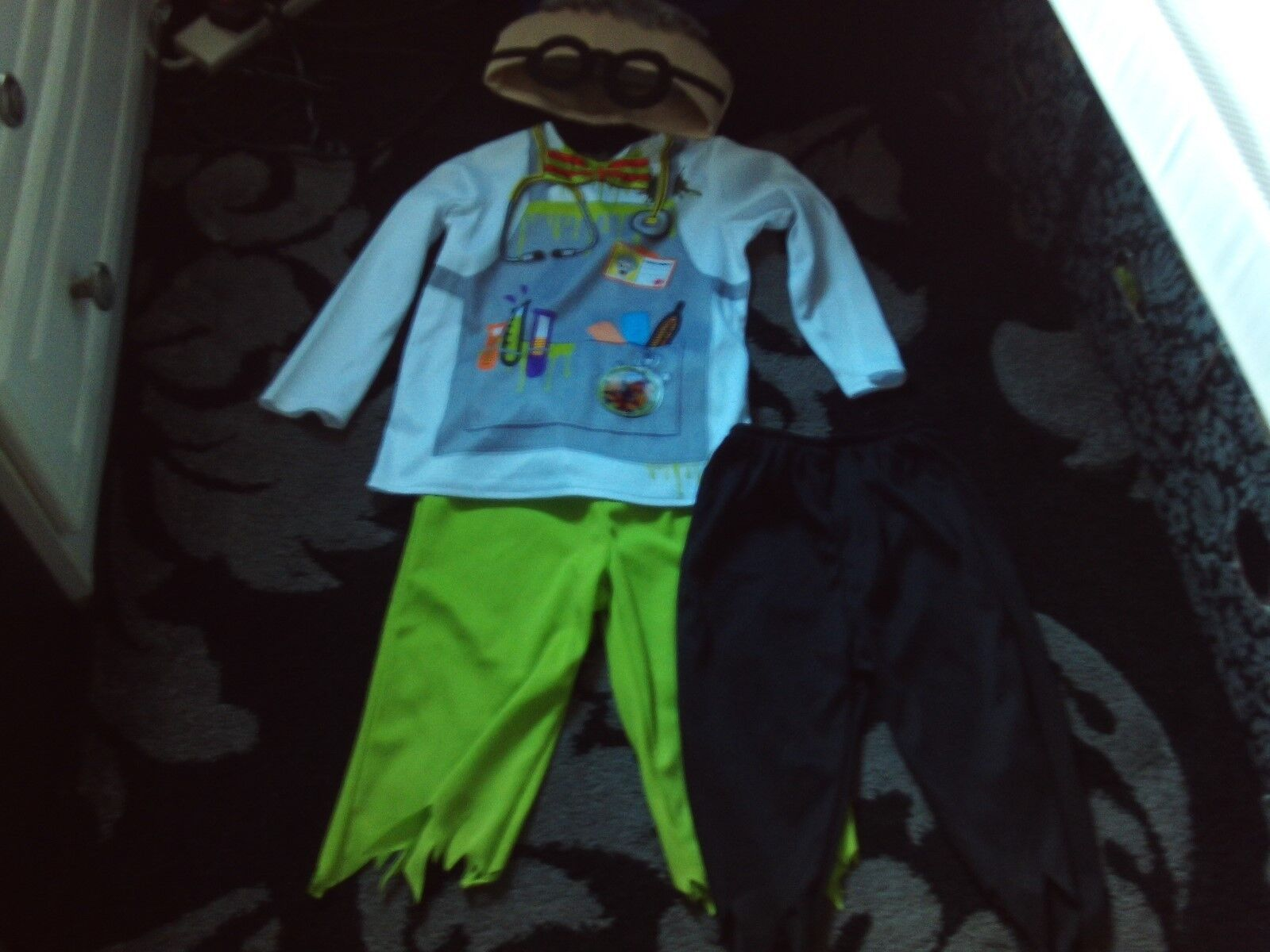 Worn 'ONCE' George from Asda Mad Professor Fancy Dress Size 18 - 24 months