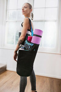 Zenifit Yoga Mat Bag - Long Tote with Pockets - Holds More Yoga Accessories.
