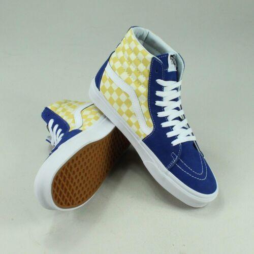 deporte Checkerboard 8 o de azul en Bmx Vans 6 9 Tama Hi 10 7 amarillo Zapatillas Sk8 Uk gw5ZqSnIxI