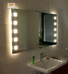 led badspiegel spiegel nach wunschma in jeder gr e wandspiegel lichtspiegel ebay. Black Bedroom Furniture Sets. Home Design Ideas