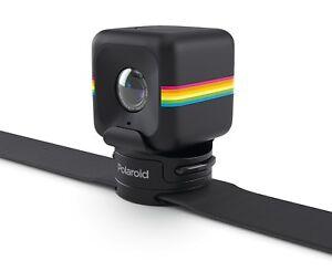NEW-Polaroid-Strap-Mount-Nylon-Black-for-Polaroid-CUBE-CAMERA-Rotating-Platform