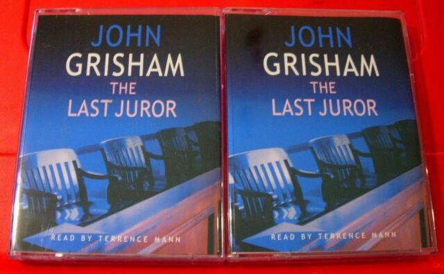 Books By Terrence Mann >> John Grisham The Last Juror 4 Tape Audio Book Terrence Mann Legal Thriller
