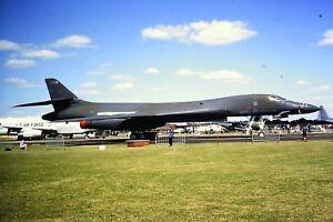 3-767-Rockwell-B-1-Lancer-United-States-Air-Force-Kodachrome-SLIDE