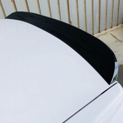 Glossy Black 522ET PUF Rear Trunk Spoiler Wing For Chrysler 05~10 300 SRT8 Sedan