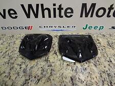 13-17 Dodge Ram 1500 2500 New Grille & Tailgate Emblem Ram Head Black Mopar Oem
