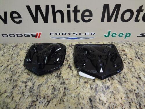 13-18 Dodge Ram 1500 2500 New Grille /& Tailgate Emblem Ram Head Black Mopar Oem