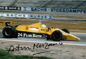Arturo-Merzario-mano-firmato-Ford-Cosworth-FOTO-12X8-1
