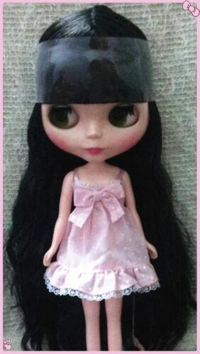 "Takara 12/"" Neo Blythe Nude Doll Black Hair from Factory TBO187 M8"