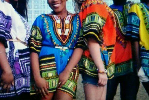 Beautiful Dashiki Africa Tribal Print Festival Kaftans - Cotton T.Shirts