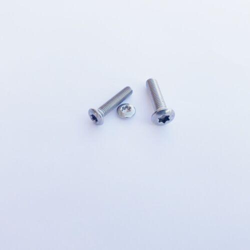 Linsensenkkopfschrauben ISO 14584 TX Edelstahl A2 M4 Linsensenkkopf DIN 966 TX