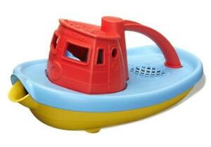 Green-Toys-My-First-Tugboat-Red-NEW-100-Recycled-USA-No-BPA-Lead-Phthalates