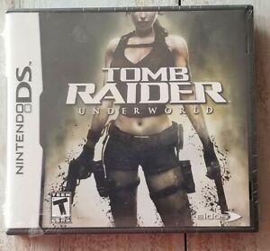 Tomb Raider Underworld Nintendo DS (2006) BRAND NEW Factory Sealed! Lara Croft