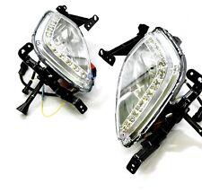 Fog Lamp DRL LED Day Light Running Lamp SET For HYUNDAI Elantra 2011 2012 2013
