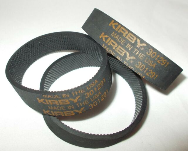 Black Kirby FBA/_301291 3 Ribbed Vacuum Cleaner Belts
