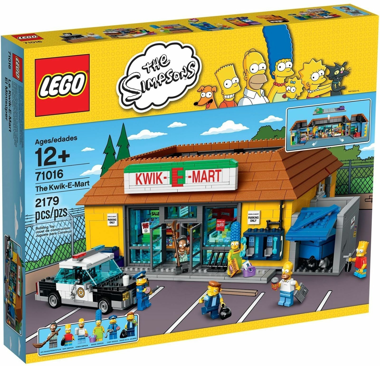 LEGO® The Simpsons™ 71016 Kwik-E-Mart NEU OVP _NEW MISB NRFB