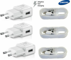 Original-Samsung-Galaxy-S6-S7Edge-Note-4-5-Adaptive-Fast-Charger-Micro-Cable-lot