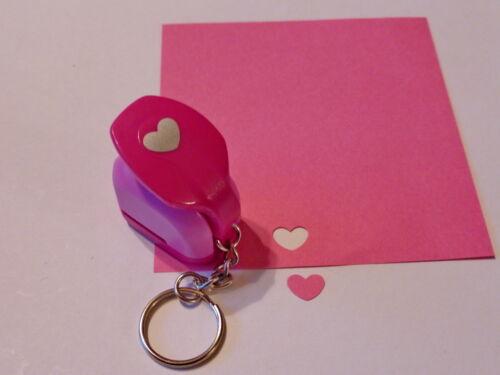 Perforatrice motif Motivstanzer porte clés cœur ca:7x10mm cartes Conception