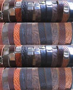Lederarmband-Herrenarmband-Armband-Maenner-schwarz-braun-Edelstahl-Herren-Leder
