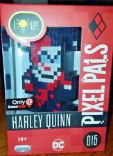 Harley Quinn Pixel Pals Only at Gamestop DC 015 PDP 2017 Light up