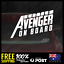 Little-Avenger-on-Board-195x70mm-Window-Funny-Decal-Vinyl-Sticker-Baby-Boy-TYPE2 thumbnail 1