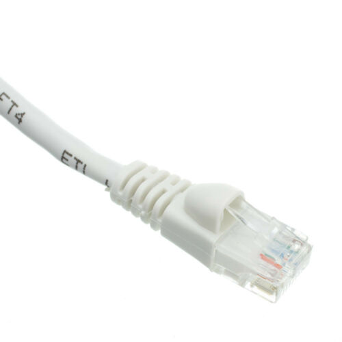 AVU Cat6a Snagless//Molded Boot Ethernet Patch Cables-Pick Size//Color 25/'-100/'