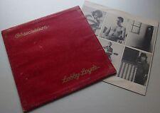 LOBBY LOYDE Obsecration COVER & INSERT Only OZ Prog/Psych '76 Rainbird AUSTRALIA