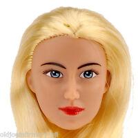 Fembasix Cg Cy Girl Lia Female Figure Head Blonde Hair Tan Skin 1:6 Scale