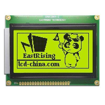 12864 128x64 Dots Graphic LCD Module Display GLCD w/KS0107+KS0108 Controller