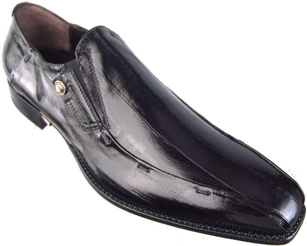 New Authentic  975 Cesare Paciotti US 6 Eel Loafers Italian Designer Shoes
