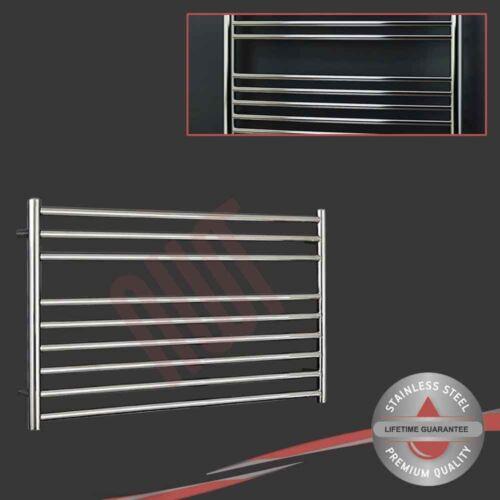 h Polished Stainless Steel Towel Rail Radiator 1510 BTUs x 600mm 1200mm w