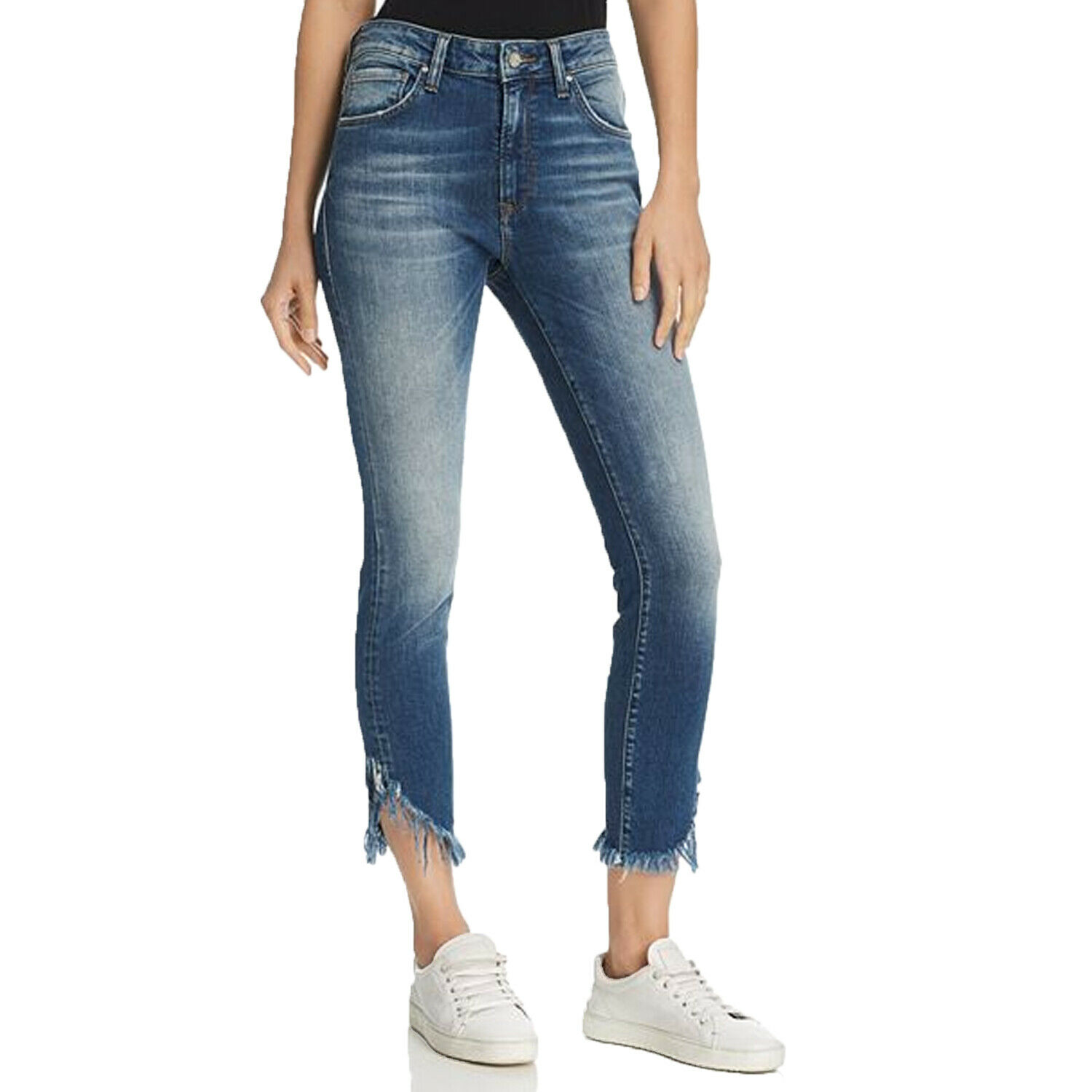 Mavi New With Tags Tess High Rise Skinny Jeans - Extreme Ripped Vintage Extreme