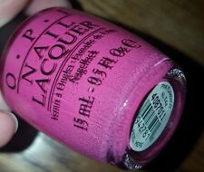 NEW! OPI Nail Polish Vernis PINK FLAMENCO ~ Spain Collection ~ Sizzling Hot