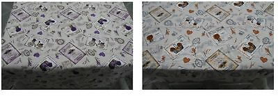 Tovaglia Tavola Cucina Irge Shabby Cotone Loneta 12 Posti Cesto Bici Shabby Soft And Antislippery Other Bedding Bedding