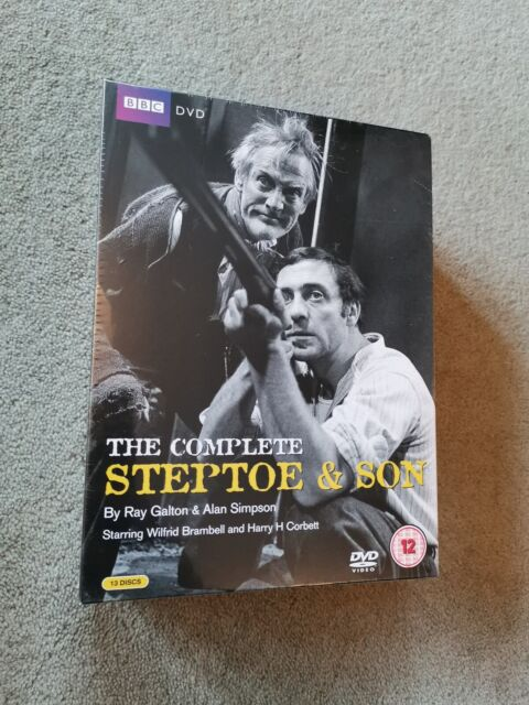 STEPTOE AND SON - THE COMPLETE COLLECTION [DVD] NEW & SEALED. FREE POST