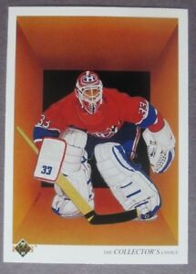 1990-91-Upper-Deck-Team-Checklist-317-Patrick-Roy-Montreal-Canadiens