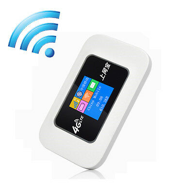 4G LTE Wifi Router 150Mbps Outdoor Travel Mobile Wifi Router  2100mAh 4G Router
