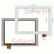 "Vetro Touch screen Digitizer 8,0"" Mediacom SmartPad 875S23G M-MP875S23G Bianco"